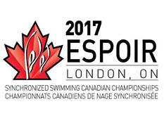 2017 ESPOIR Synchronized Swimming Canadian Championships