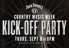 Jack Daniel's Country Music Week Kick-Off Party