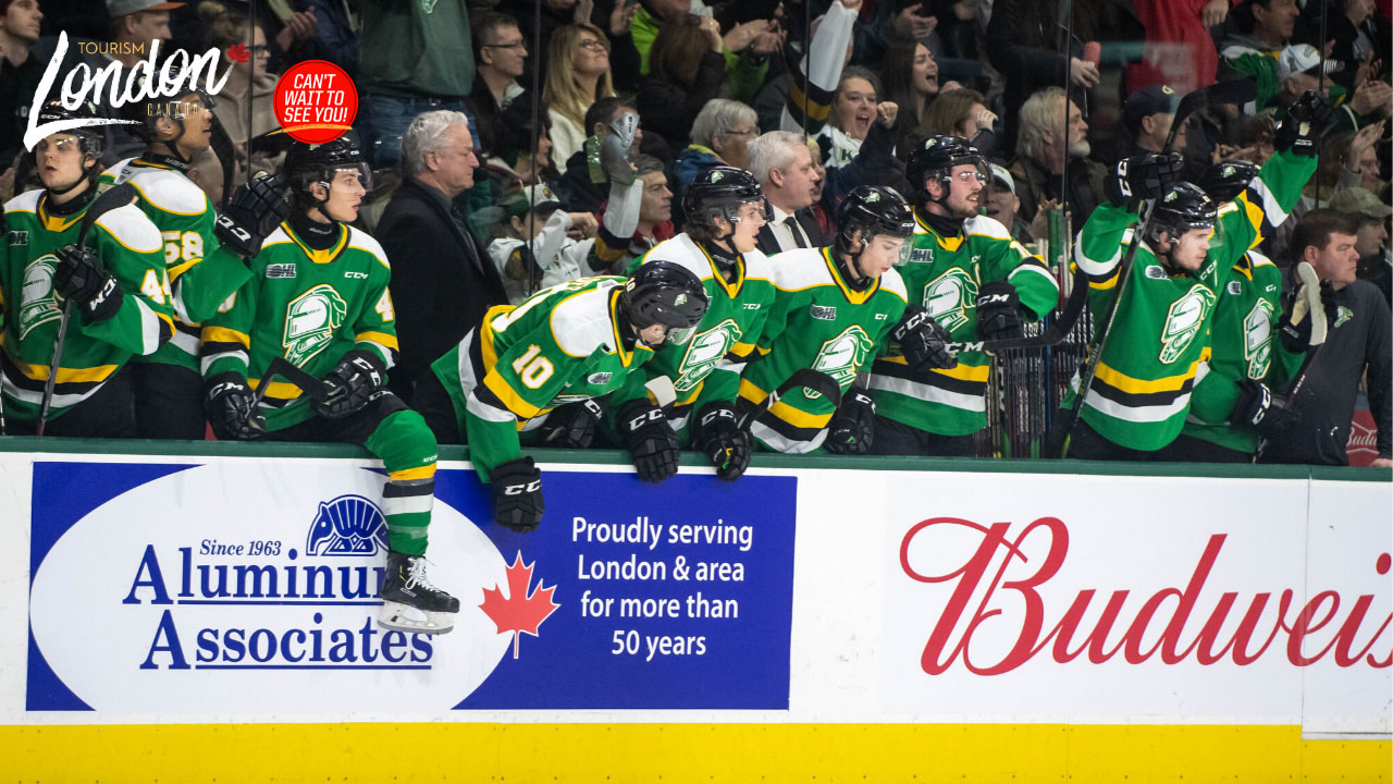 Budweiser Gardens - London Knights Game