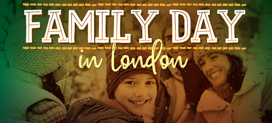 FAMILY DAY WEEKEND EVENTS IN LONDON