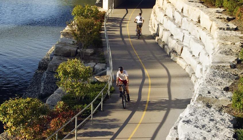 Cycling Path Greenway Park