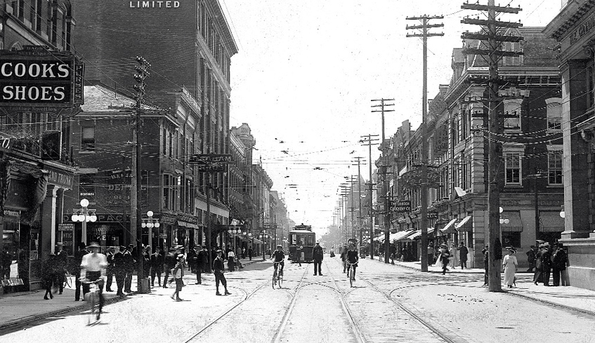 Dundas and Richmond Street, London, Ontario